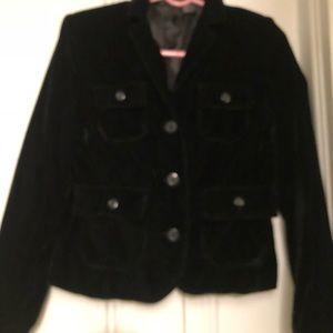 Will Smith black velvet jacket size 4